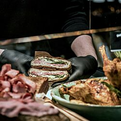 Get your lunch at Butcher's Cave